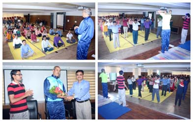 international yoga day  21st june 2019  gogte college of